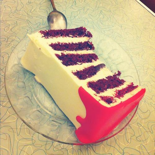 Rick's Dessert Diner: Best Red Velvet Cake In The West